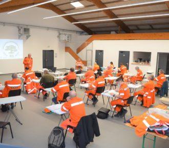 Salernes – Début de formation pour les CCFF et RCSC du secteur Nord-Ouest